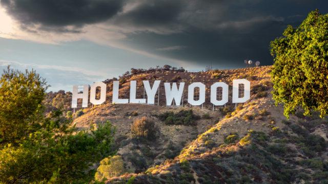 HOLLYWOOD CALIFORNIA - FEBRUARY 24: The world famous landmark Ho